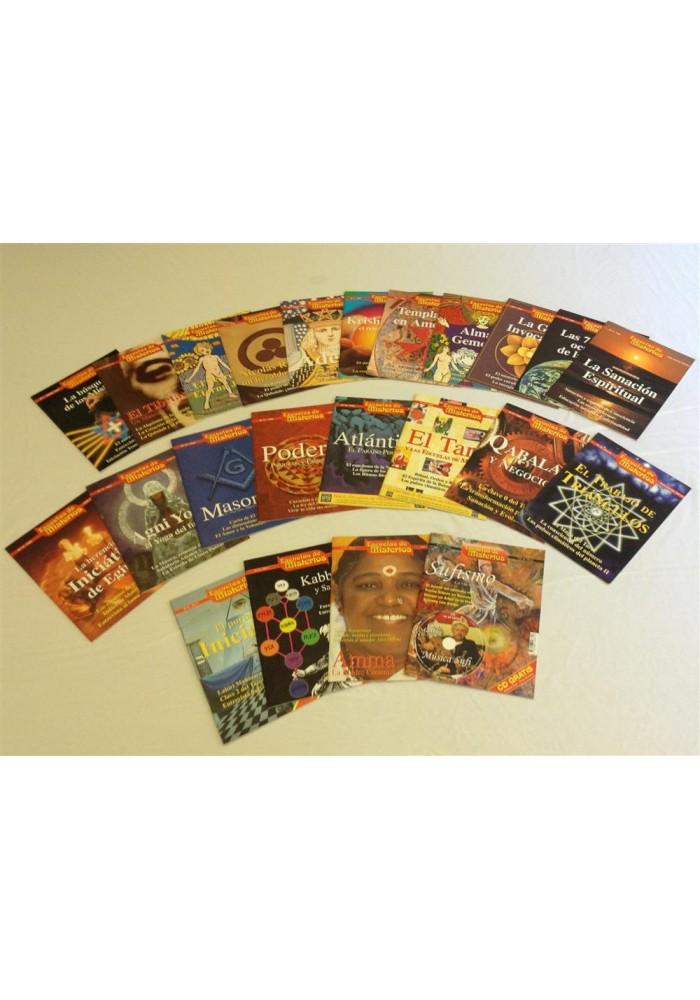 Coleccíon revistas Escuelas de Misterios
