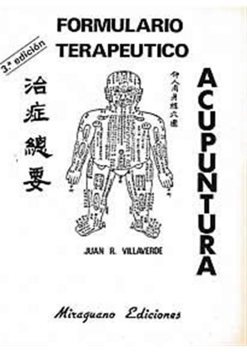 Formulario Terapeutico aupuntura