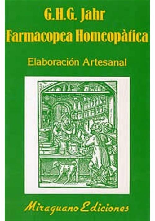 Farmacopea Homeopática- Elaboración artesanal
