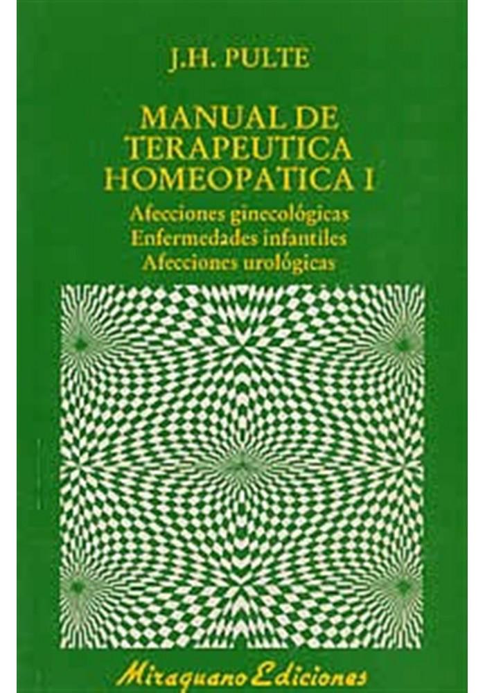 Manual de terapeutica homeopática I