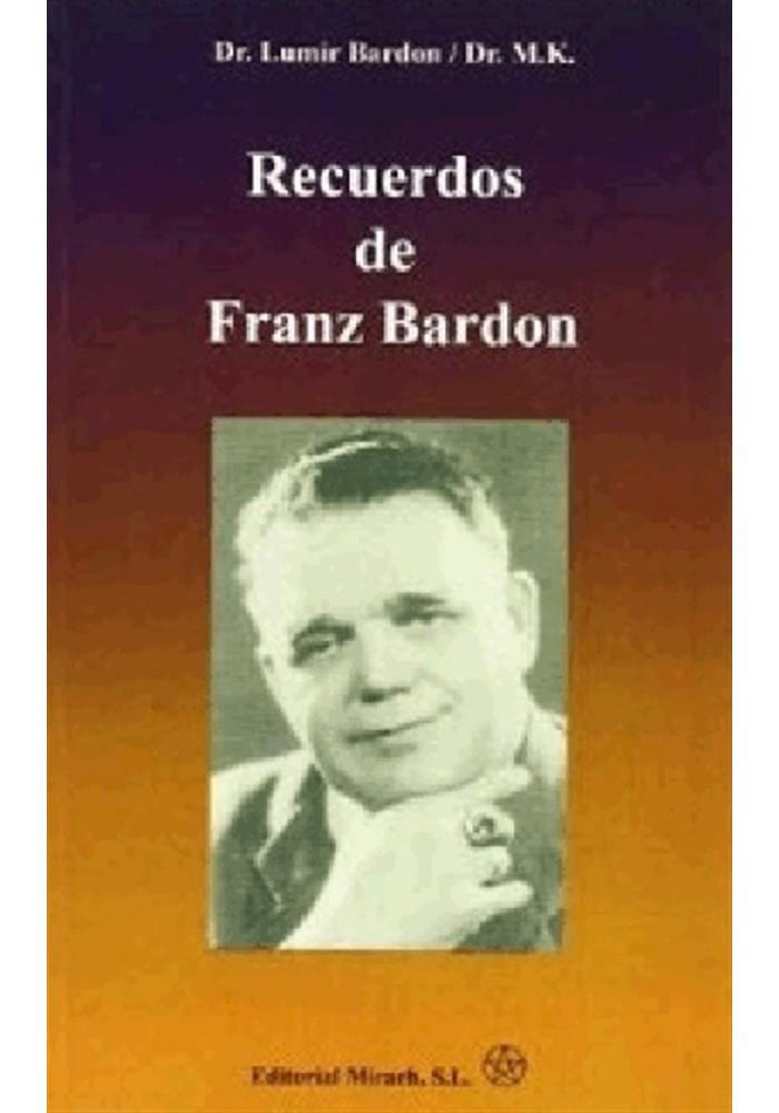 Recuerdos de Franz Bardon