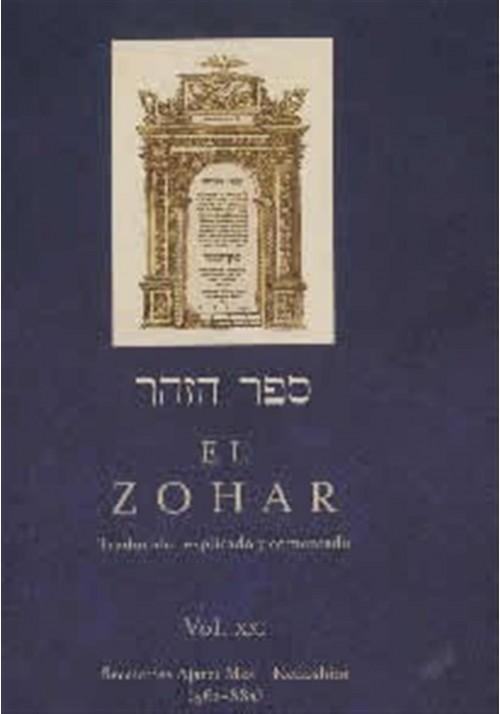 El Zohar Vol- XXI, Secciones Ajarei Mot -Kedoshim (556a-88a)