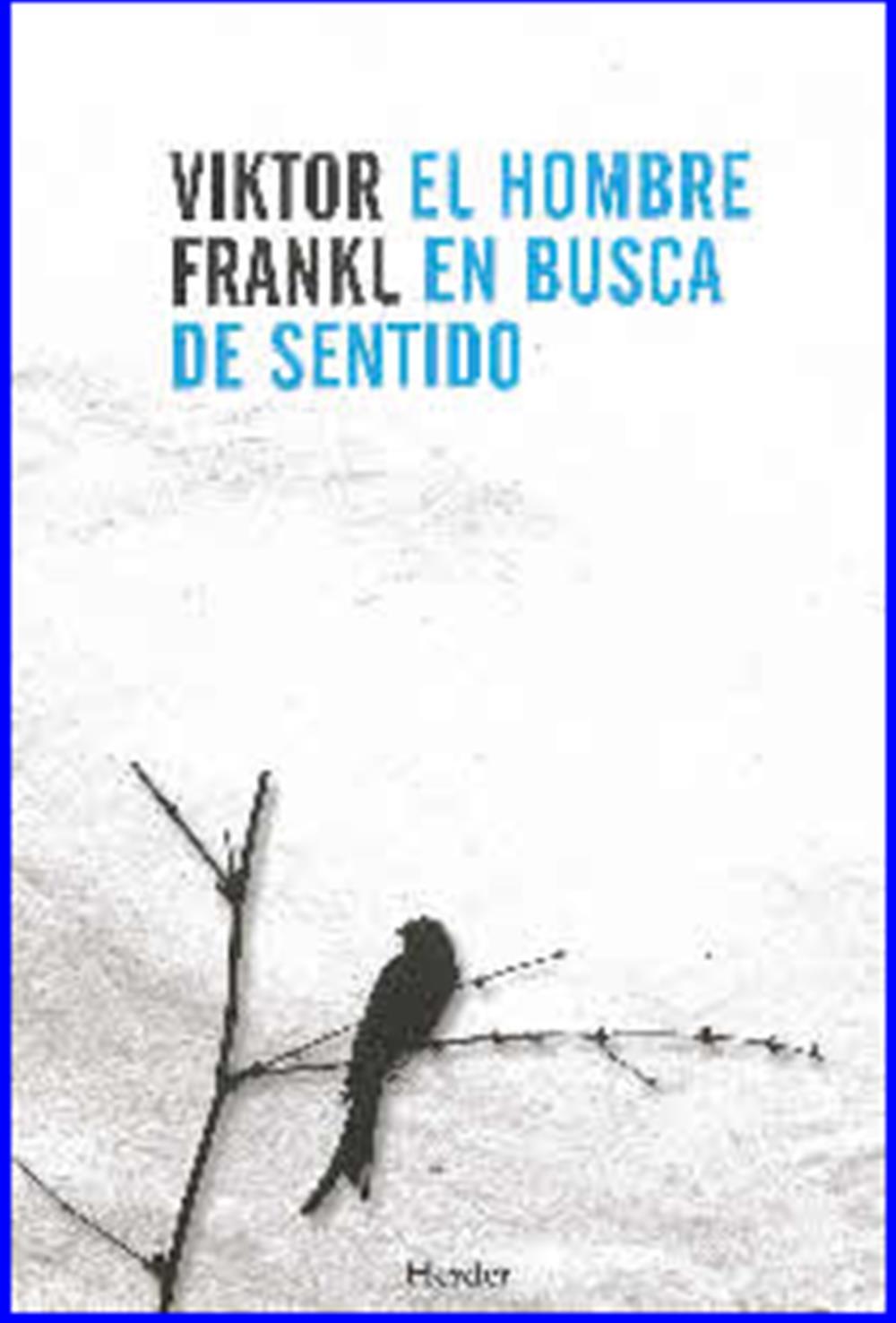 El hombre en busca de sentido- TAPA BLANDA - Librería