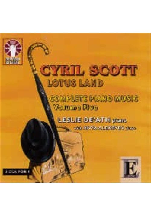 CD Lotus Land Complete Piano Music Volumen five