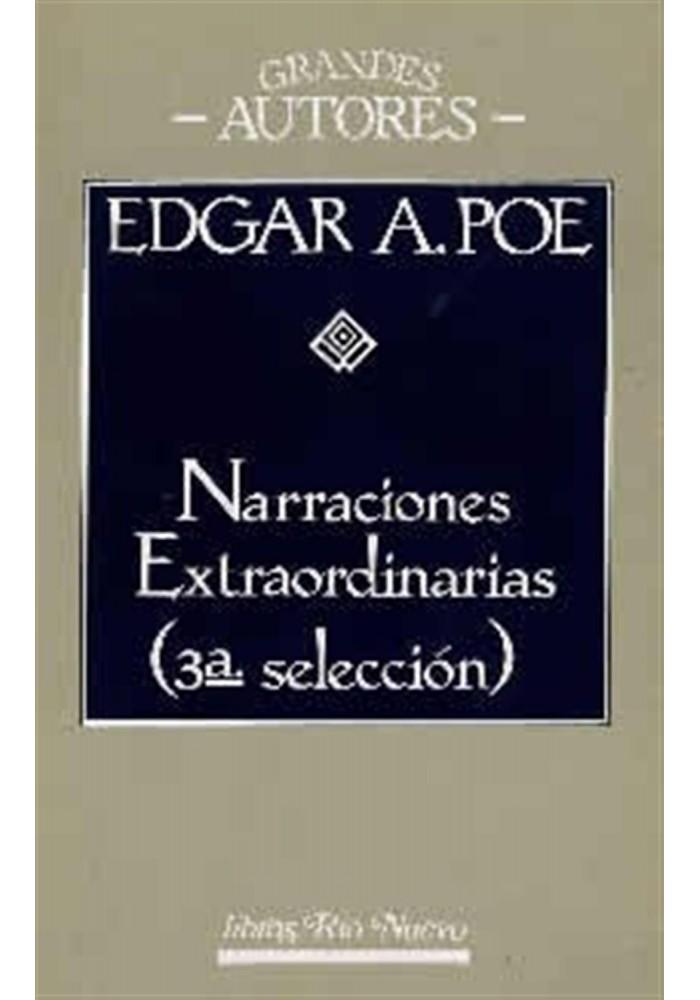 Narraciones Extraordinarias (3ª selección)