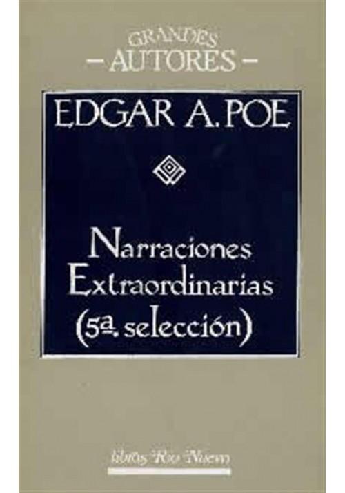 Narraciones Extraordinarias (5ª selección)