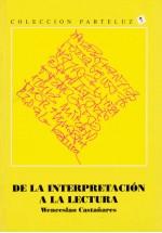 La interpretación a la lectura