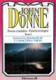 John Donne- Poesía completa-Edición bilingüe- Tomo I