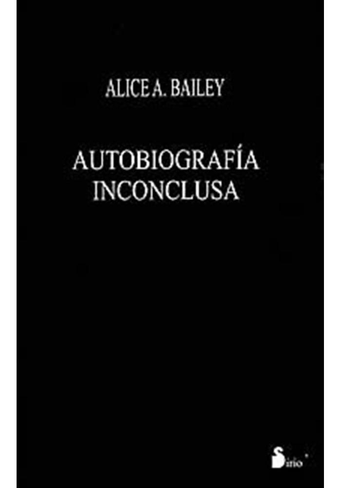 Autobiografía Inconclusa