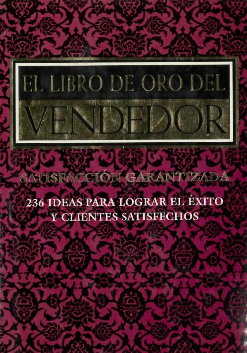 El libro de oro del vendedor