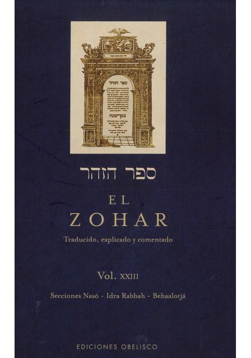 El Zohar- Vol XXIII- Secciones Nasó- Idra Rabbah- Behaalotjá