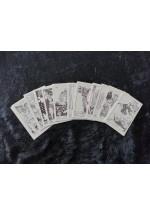 Claves de Tarot pequeñas- PARA PINTAR