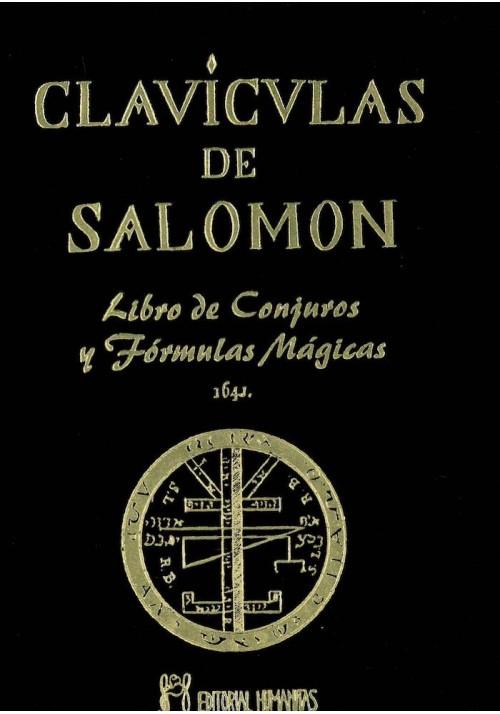 Clavículas de Salomon- Libro de Conjuros y Fórmulas Mágicas
