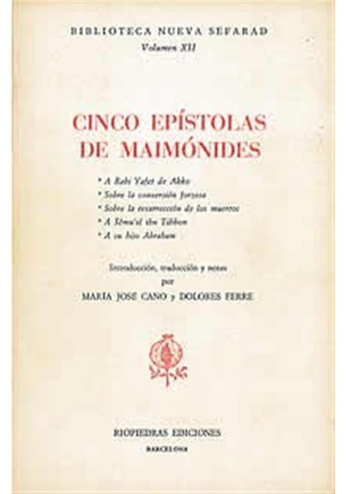 Cinco Epistolas de Maimónides