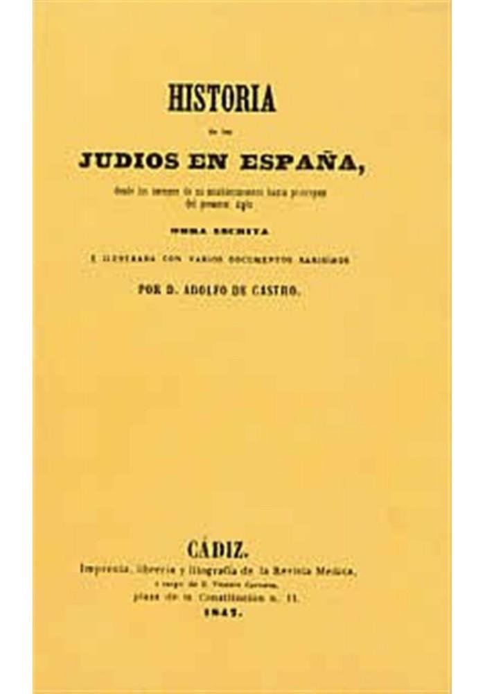 Historia de los judíos en España